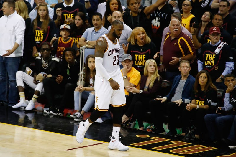 LeBron James (Gregory Shamus/Getty Images)
