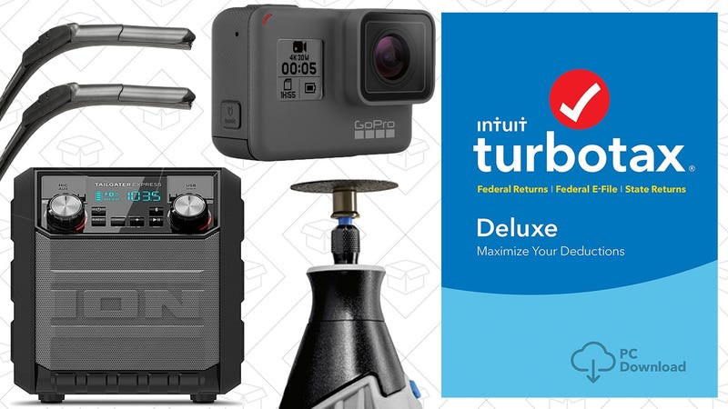 Illustration for article titled The Best New Year's Eve Deals: GoPro, TurboTax, Dremel, and More