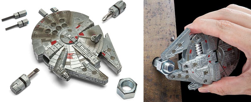 This Pocket-Sized Millennium Falcon Is Smuggling a Toolbox's Worth of Functionality