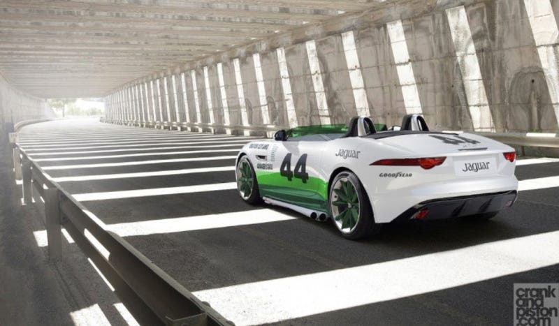 Illustration for article titled This Is The F-Type Race Car Jaguar Has To Make
