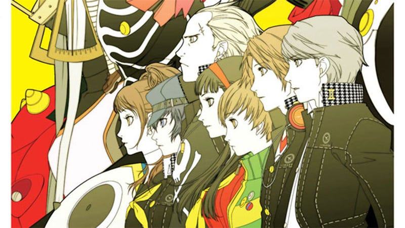 Illustration for article titled This Gorgeous Persona 4 Art Book should Tide You Over Until Golden Comes Out