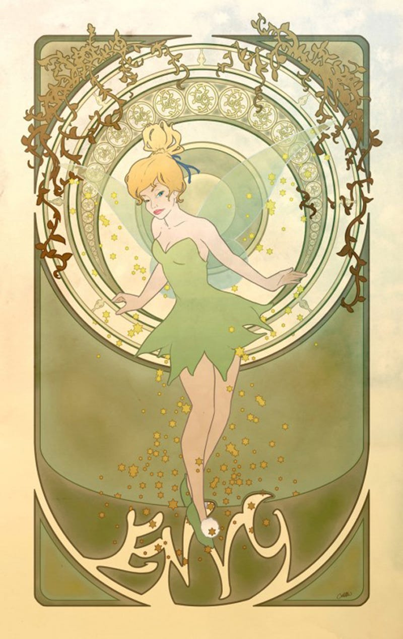 Giantess Tinkerbell in the seven deadly sins of disney princesses