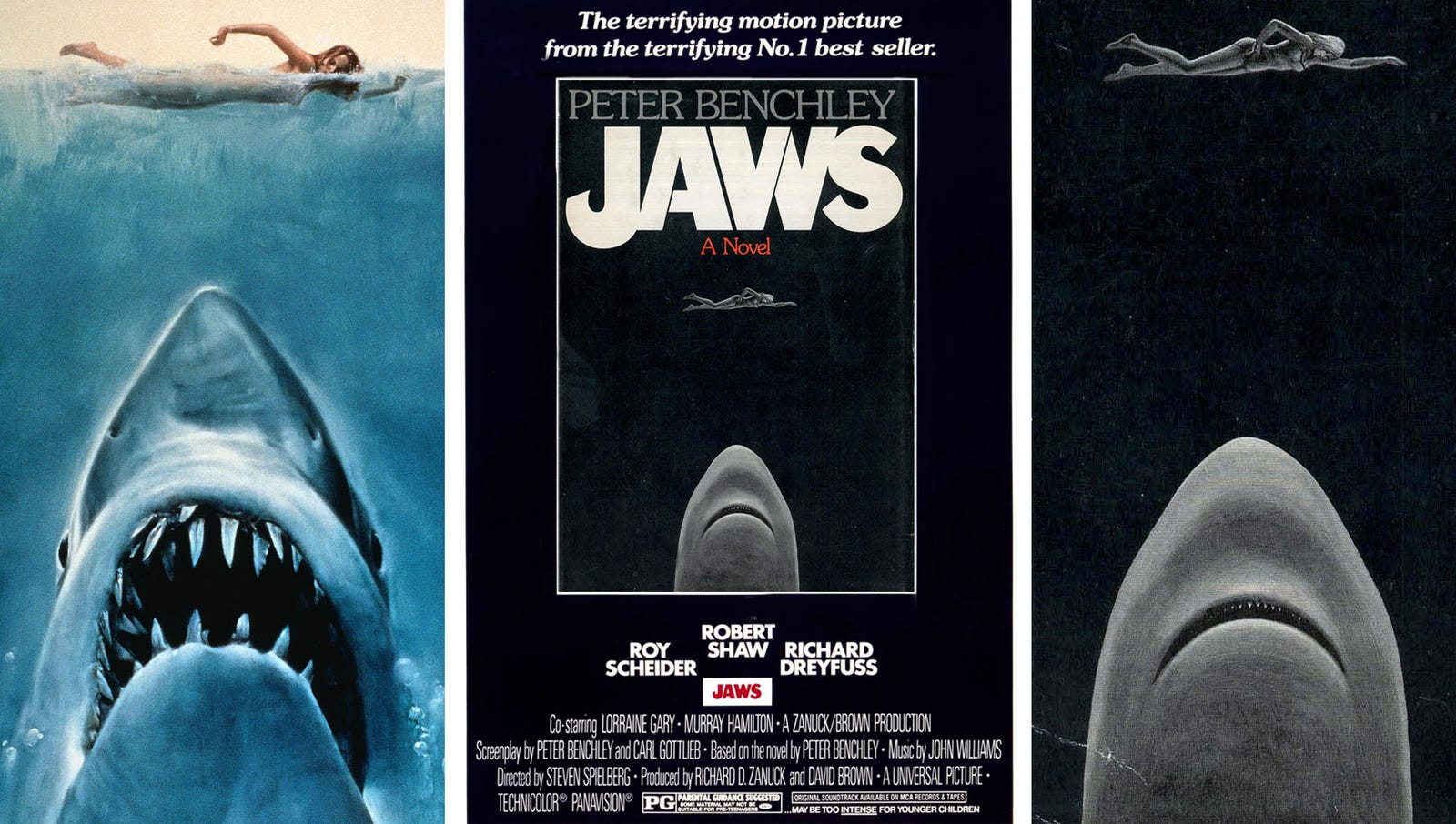 Spielberg's Jaws adaptation cut the mafia and sex subplots
