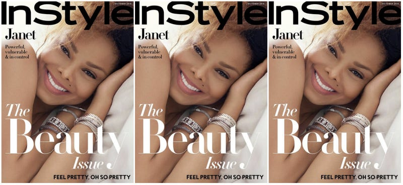 Illustration for article titled Made for Now: Janet Jackson's Beauty Is Eternal on October's InStyle