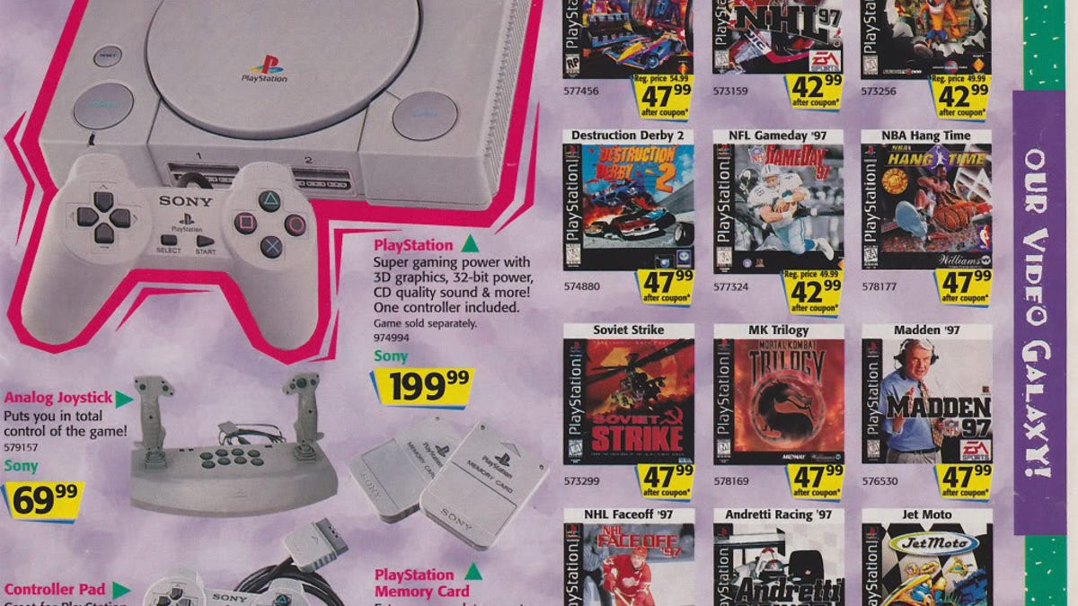 Toys R\' Us\' Christmas 1996 Catalogue Is A Historic Wonderland