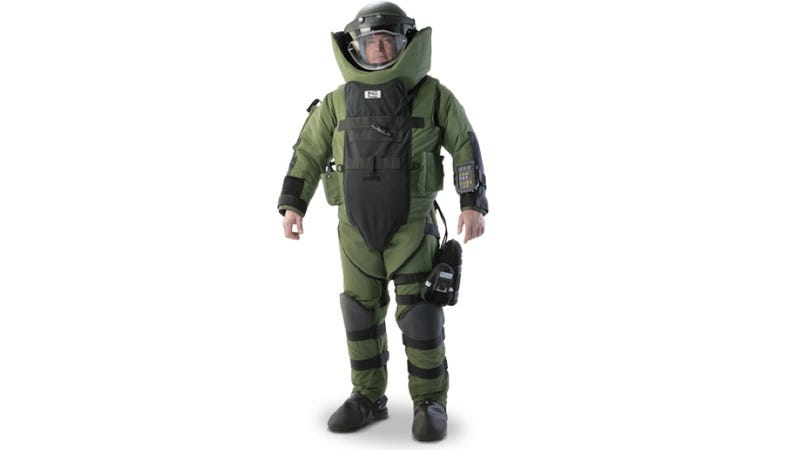 Guess how much this EOD 9 Bomb Tech Suit Costs