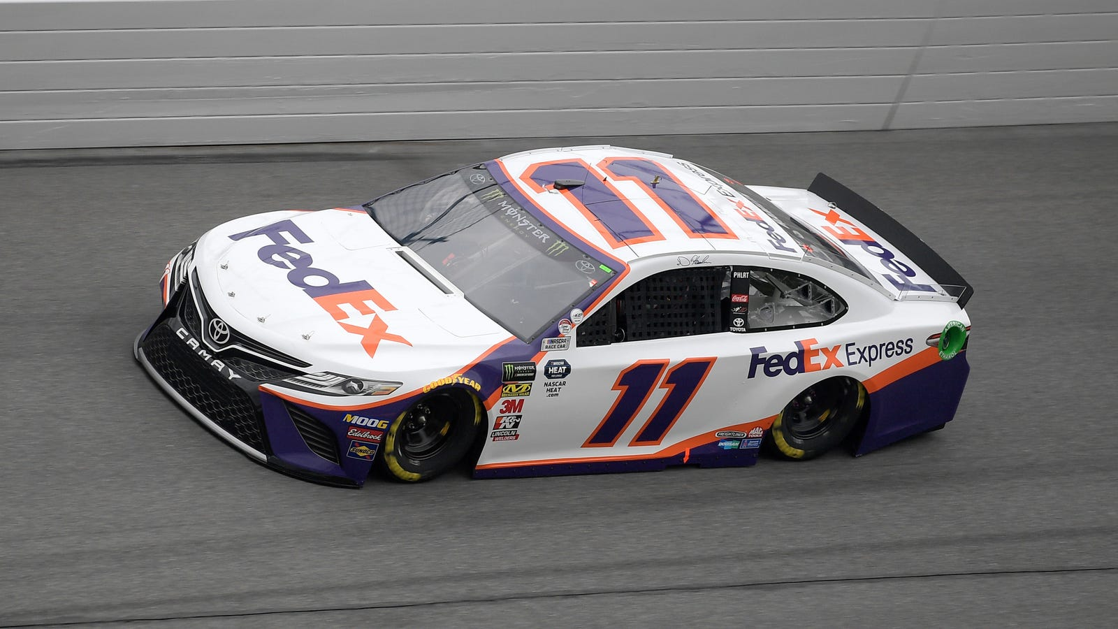 Denny Hamlin Plays the Ultimate Game of Defense to Win the ...