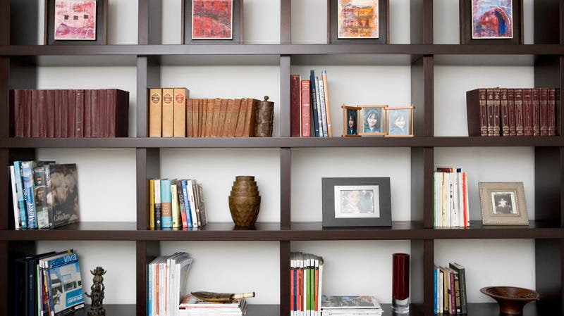 How to Decorate a Bookshelf with More than Just Books