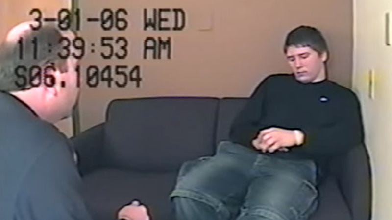 Illustration for article titled Brendan Dassey's unnerving, 4-hour confession is online