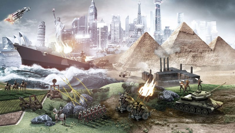 Illustration for article titled Civilization's Giant AI Battle Royale Died, Returns Way Better