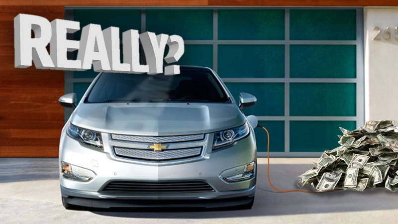 Illustration for article titled GM Isn't Really Losing All That Cash With Each Volt