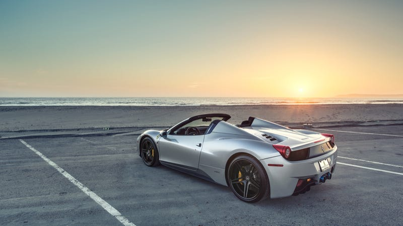 Illustration for article titled Your Ridiculously Awesome Ferrari 458 Spider Wallpaper Is Here