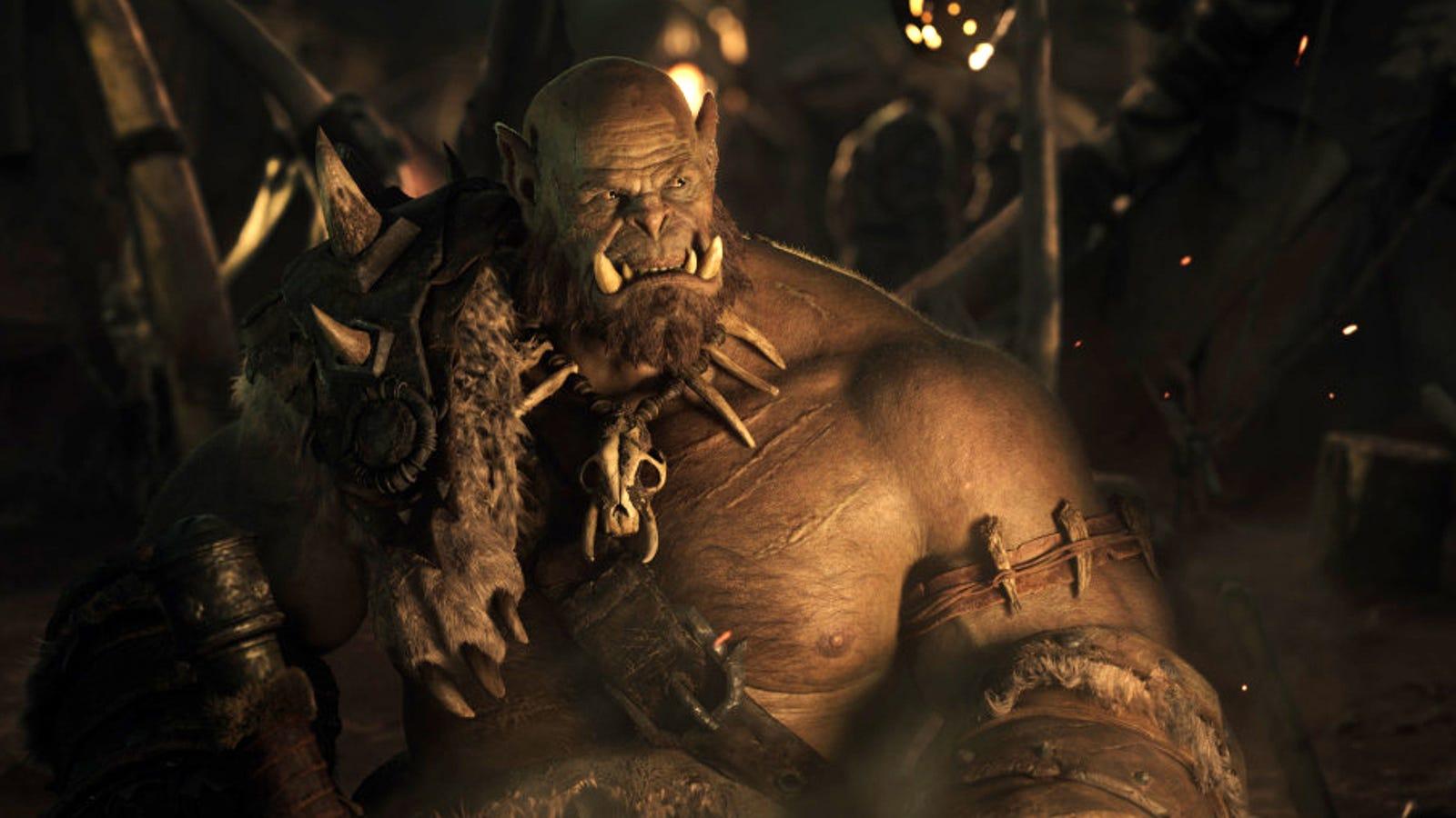 Primera imagen del jefe orco Orgrim en la película World Of Warcraft