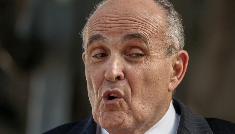 Illustration for article titled Rudy Giuliani: I'm Not Racist; Our Dumb President Had a White Mom