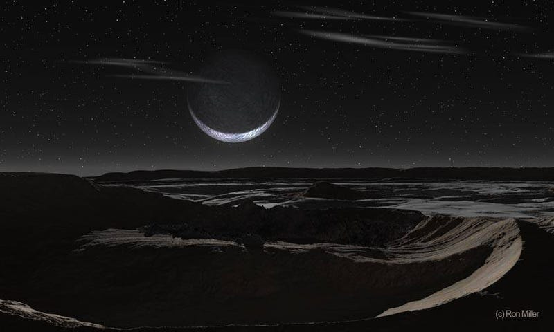 Illustration for article titled Stunning Pluto Art Makes Me Want to Hike the Norgay Montes