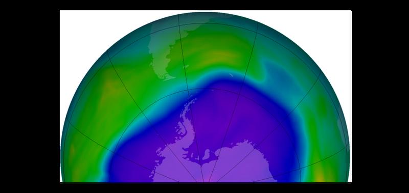 Illustration for article titled Un compuesto químico prohibido sigue destruyendo la capa de ozono