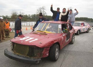 Illustration for article titled Break Out The Lutefisk! Saab Takes 24 Hours Of LeMons Overall Win!