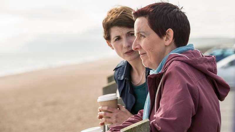 Jodie Whittaker, Julie Hesmondhalgh (Photo: Colin Hutton/BBC America)