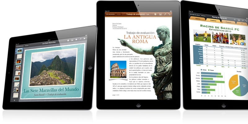 Illustration for article titled ¿Nuevo iPad en camino? El siguiente modelo podría tener 128 GB