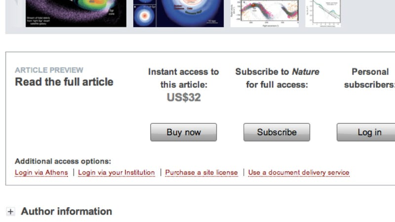Illustration for article titled Why does it cost $20,000 a year to subscribe to a science journal?