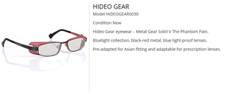 Illustration for article titled Konami Is Selling Kojima's Glasses Right Off His Face