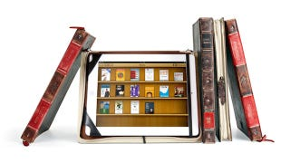 Illustration for article titled The BookBook Case Is Ready for iPad 2