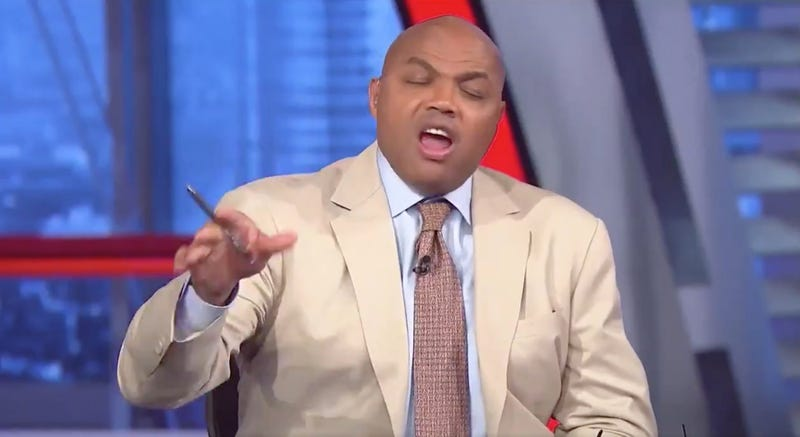 Illustration for article titled Charles Barkley And Shaq Got Each Other Steaming Mad By Yelling About Some Stupid Shit
