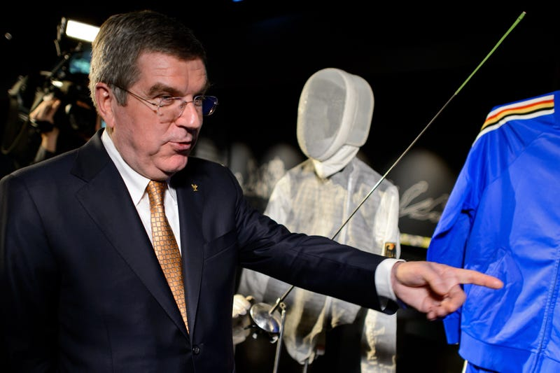 Thomas Bach, president of the International Olympic Committee (Photo by Fabrice Coffrini, via Getty Images)