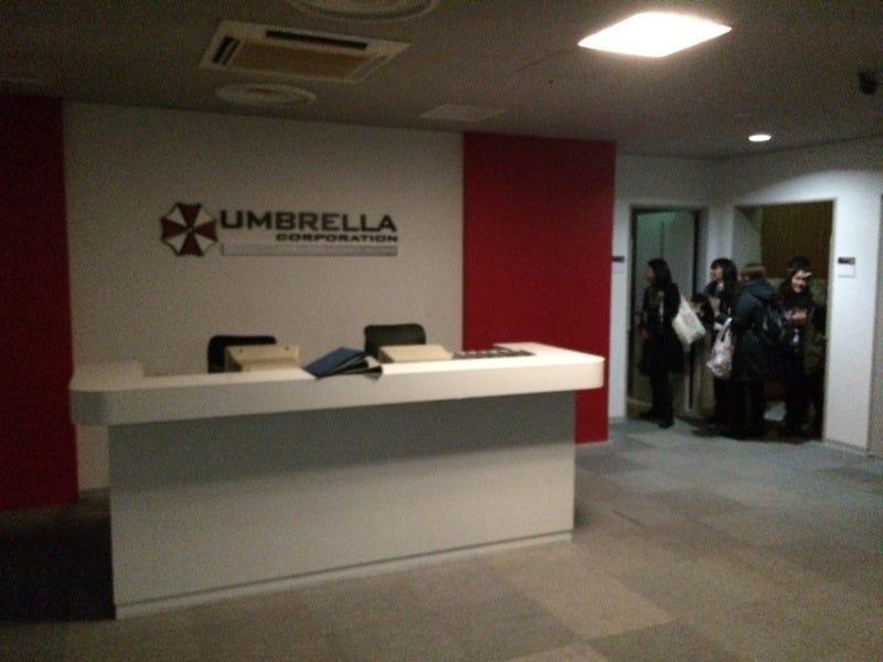 Illustration for article titled Today, I Visited Resident Evil's Umbrella Corporation [Update]