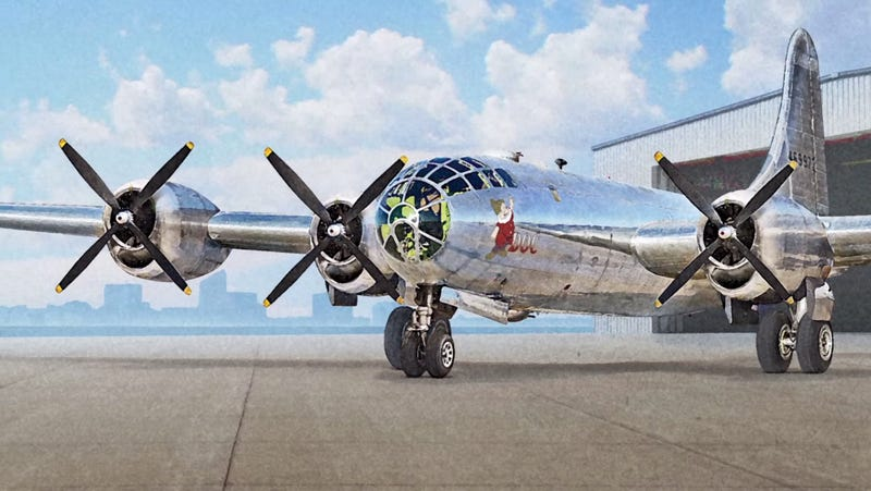 Illustration for article titled There Are About To Be Two Airworthy B-29s