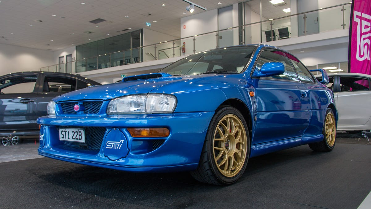 The Subaru Impreza 22B Was An Insane Monster That Could