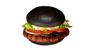 Illustration for article titled Burger King Is Launching Squid Ink Ketchup and a Black Hamburger