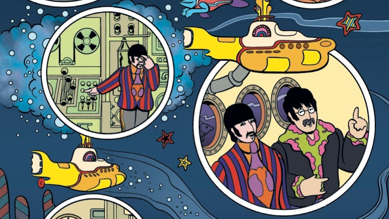 the beatles 39 yellow submarine is getting a new comic book adaptation next year. Black Bedroom Furniture Sets. Home Design Ideas