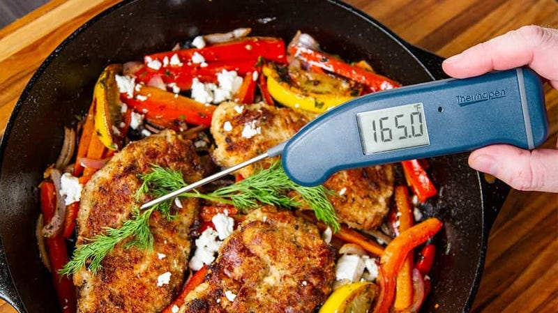 Thermapen Mk4 | $84 | ThermoWorks | Marine Blue only