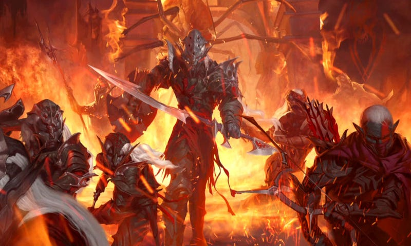 Rise of the Underdark will infest all of D&D in 2012