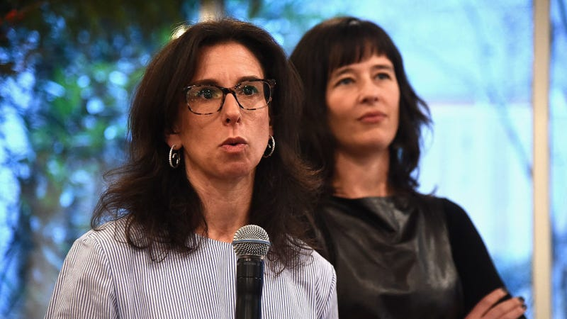 Jodi Kantor, left, and Megan Twohey, right / Image via Getty