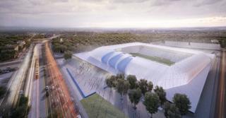 Illustration for article titled Így fog kinézni az MTK új stadionja