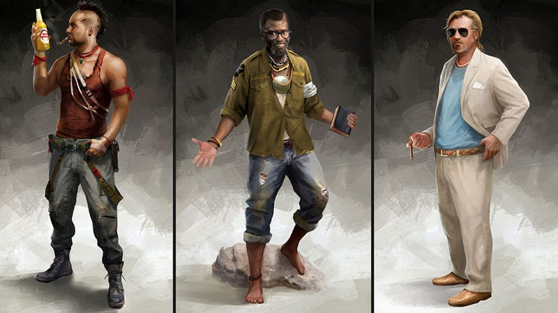 Illustration for article titled Everyone In Far Cry 3 Looks Absolutely Crazy. Everyone.