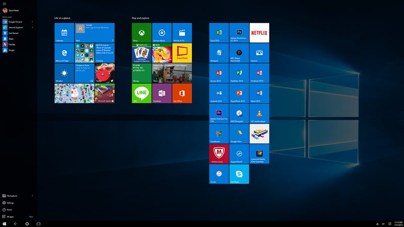 Did you hear there's a new version of Windows in town? If your Windows 8-toting friends ask you exactly what you can do with the new Windows 10 that they ...