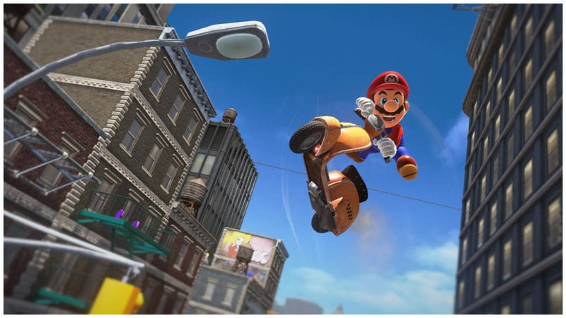 Screenshot: Super Mario Odyssey/Nintendo