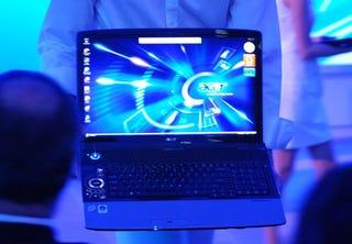 "Illustration for article titled Acer's ""Blue"" Ace: Aspire Gemstone Blue Notebook"