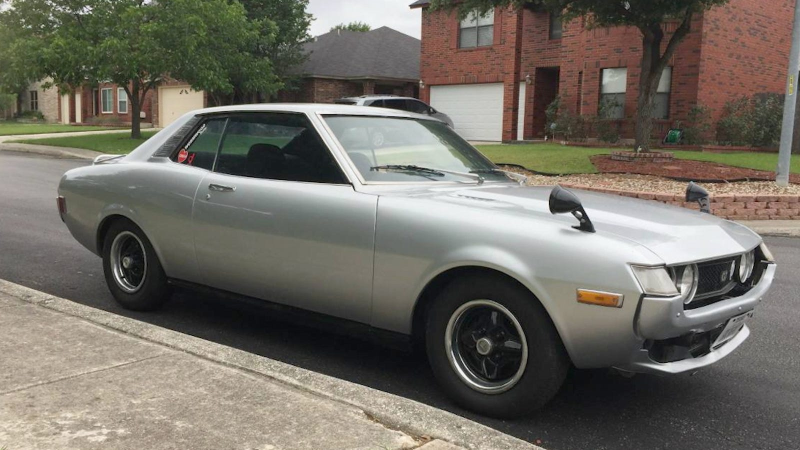 for 9 500 could this 1975 toyota celica be a car worth remembering. Black Bedroom Furniture Sets. Home Design Ideas