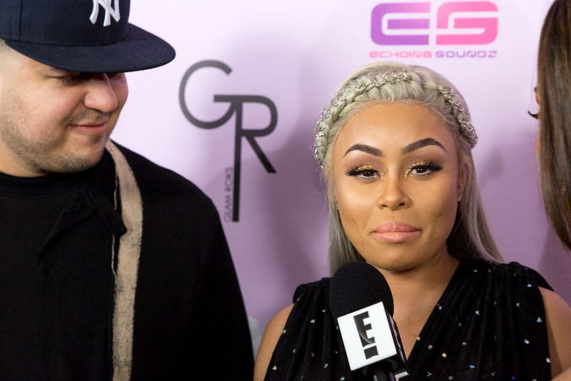 Rob Kardashian and Blac Chyna (Greg Doherty/Getty Images)