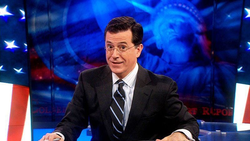 Illustration for article titled The Colbert Report has an official end date