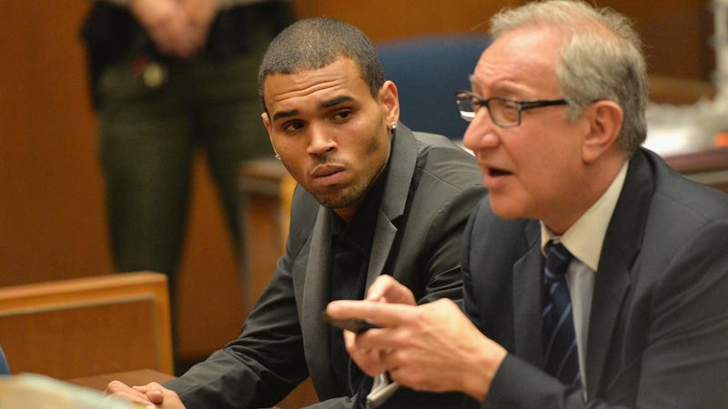 Illustration for article titled Judge Revokes Chris Brown's Probation--Could Mean 4 Years in Prison
