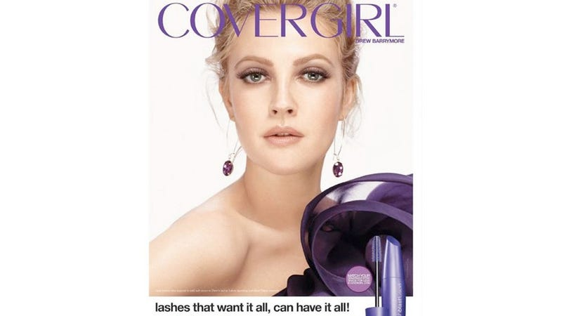 Illustration for article titled Drew Barrymore Said To Be Ditching Cover Girl To Start Her Own Cosmetics Brand