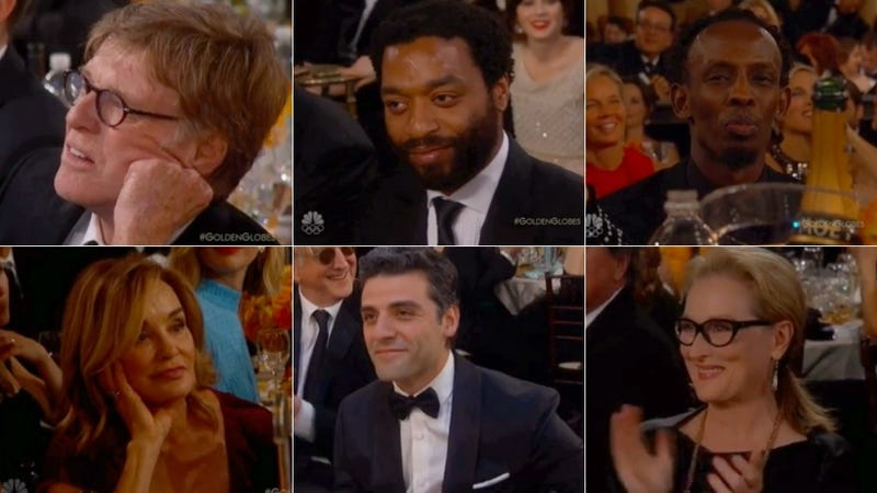 Illustration for article titled The Best Loser Faces from Last Night's Golden Globes