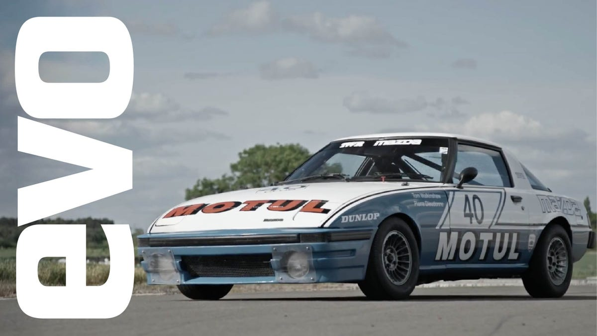 This Old Mazda RX-7 Race Car Is A Buzzy Track Monster