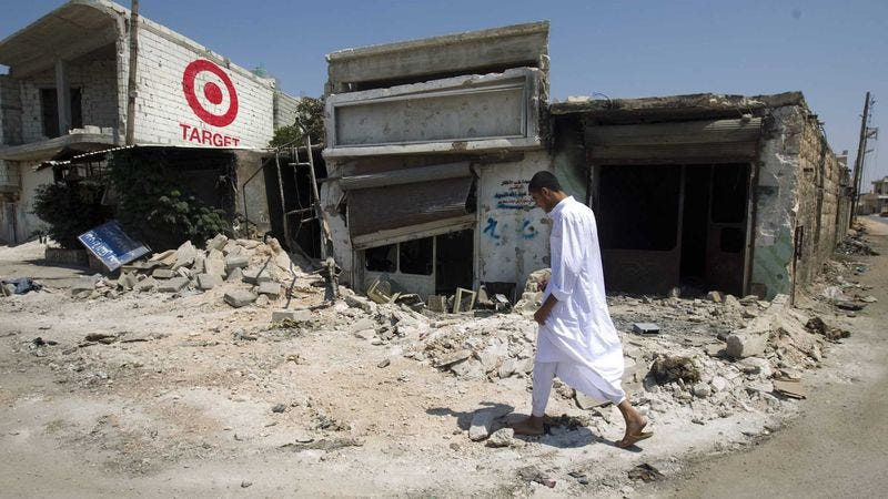 Illustration for article titled Target Pulls All Sponsorship From Publicly Ignored Syrian Conflict