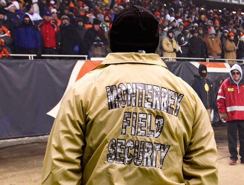 Illustration for article titled Bears Fans Jealous Of Soldier Field Security Guards With Back To Game